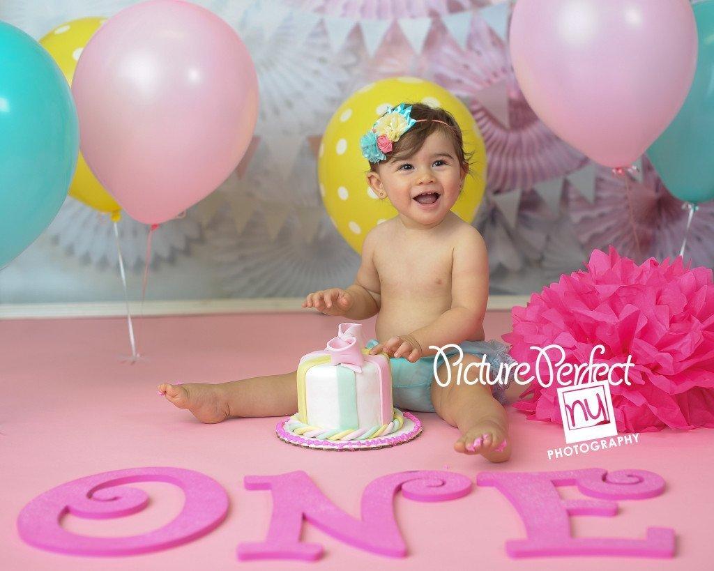 Terrific Smash Cake Session First Birthday Brooklyn Ny Photographer Funny Birthday Cards Online Bapapcheapnameinfo