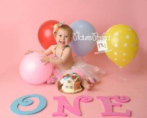 Cake Smash Photography Brooklyn, NY : Princess Aurora