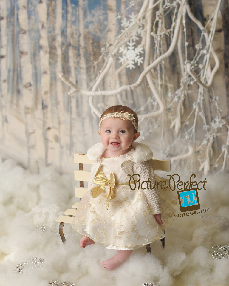 holiday baby photography
