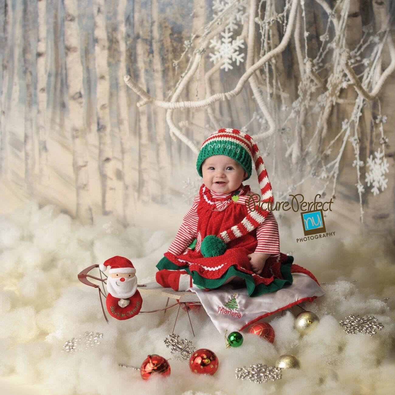 Holiday Baby Photography Brooklyn NY