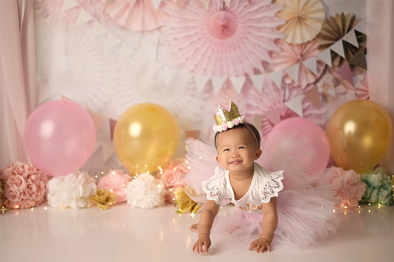 NYC First Birthday Portrait Session at Picture Perfect NY