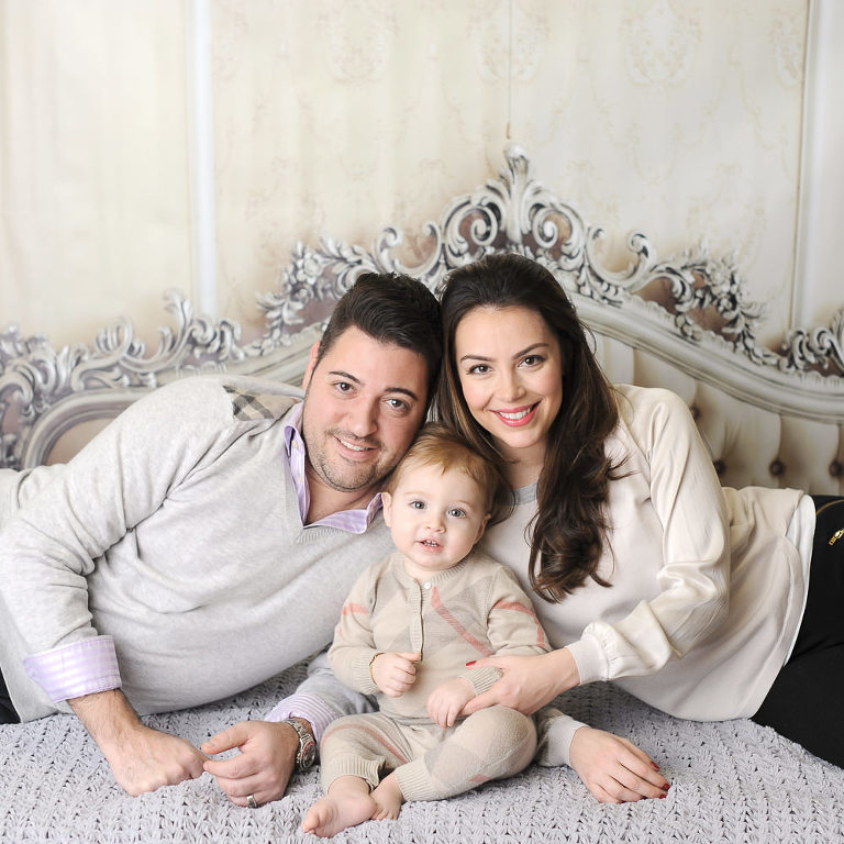 family baby portrait