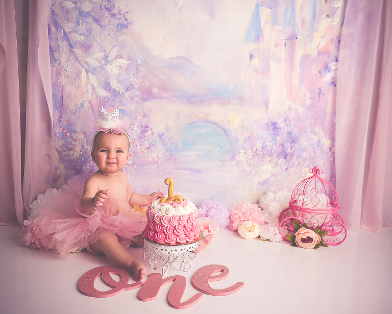 nyc smash cake photography