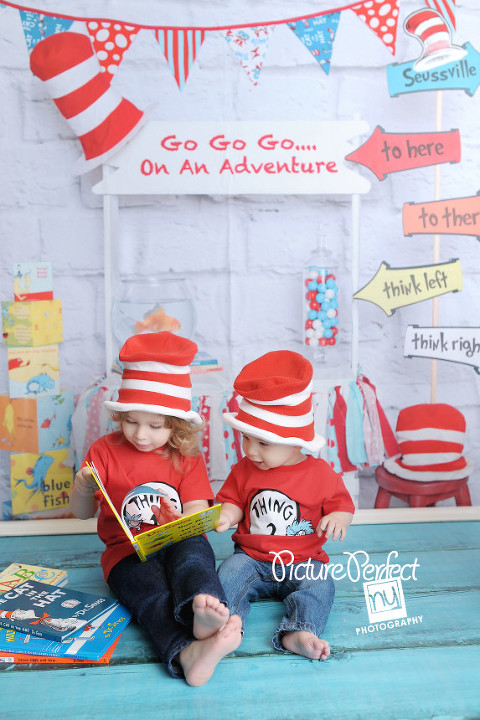 Brooklyn NY Photographer Dr. Seuss First Birthday