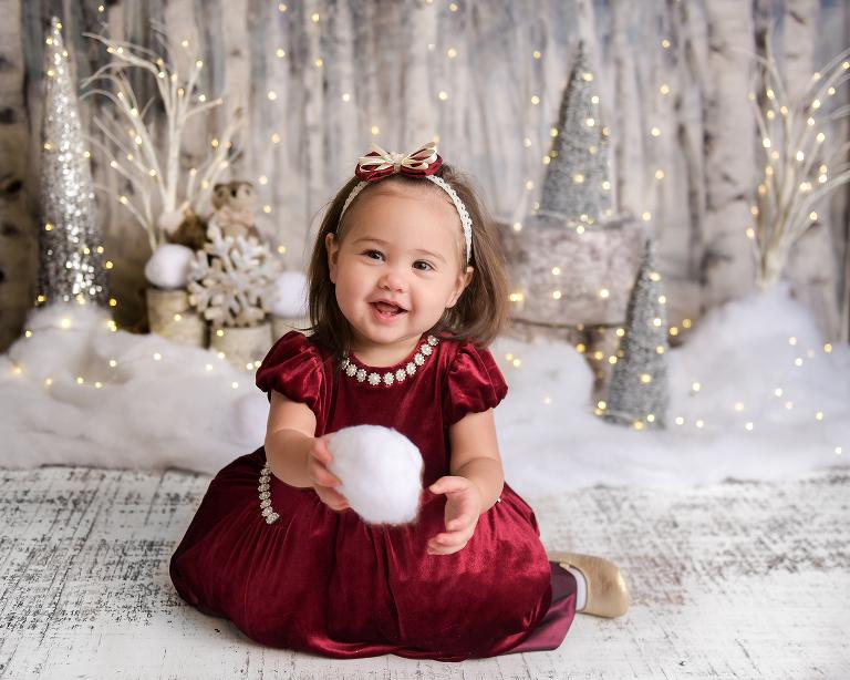 winter wonderland baby photographer nyc
