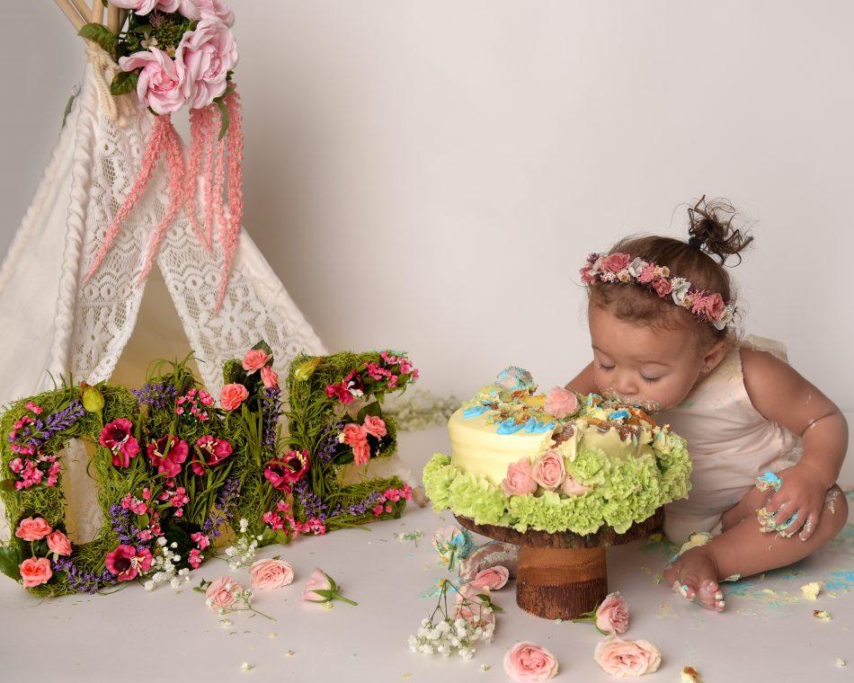 NYC baby milestone photography