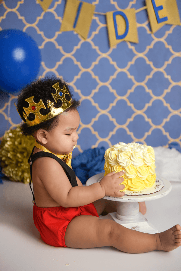 nyc first birthday cake smash