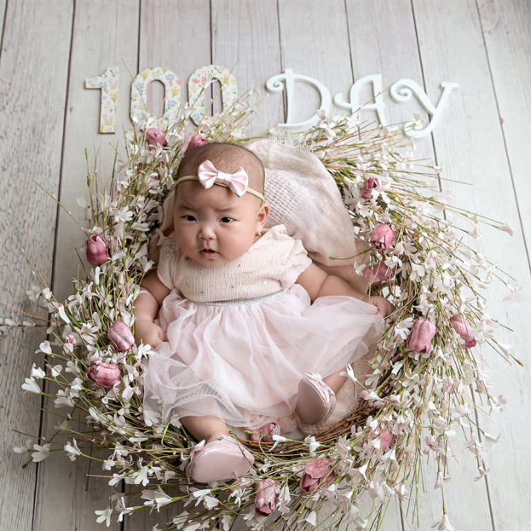 100 Days Old Baby Photography NYC