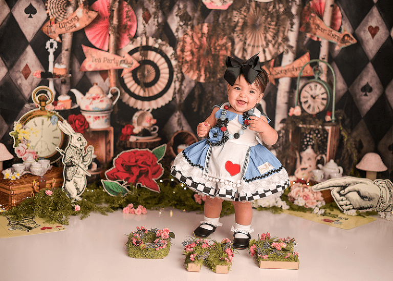 alice's adventures in wonderland portrait session