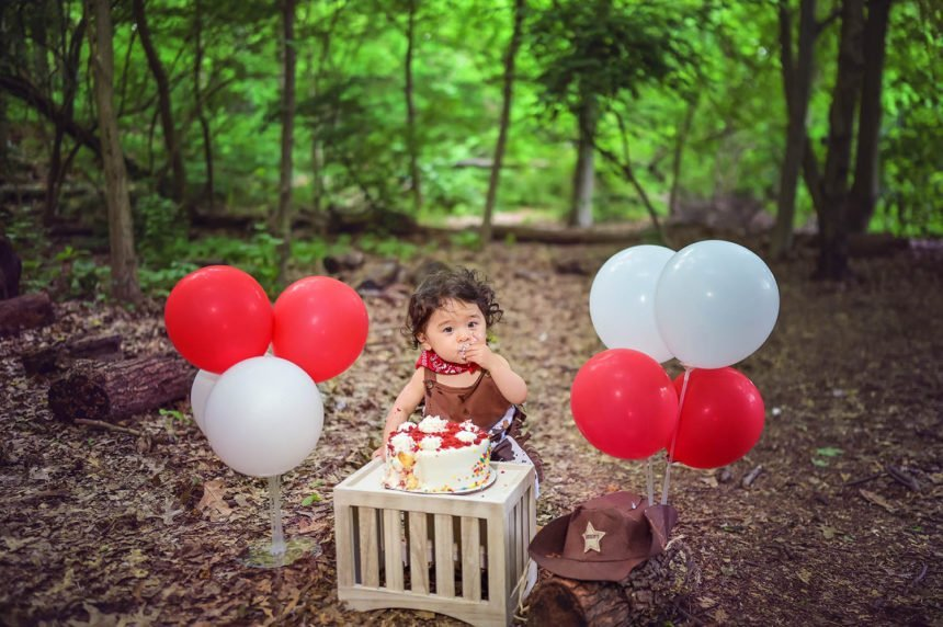 first birthday outdoor session nyc child photographer