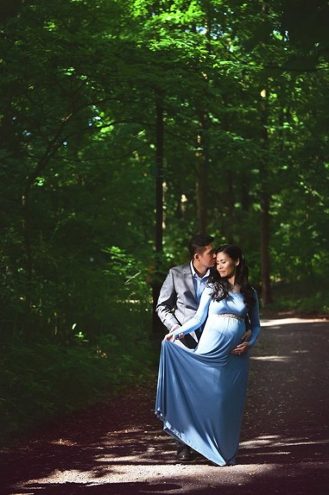 nyc maternity photographer the couples bliss