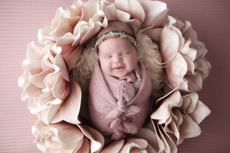 Alice in Wonderland Newborn Photography in NYC - Picture Perfect NY
