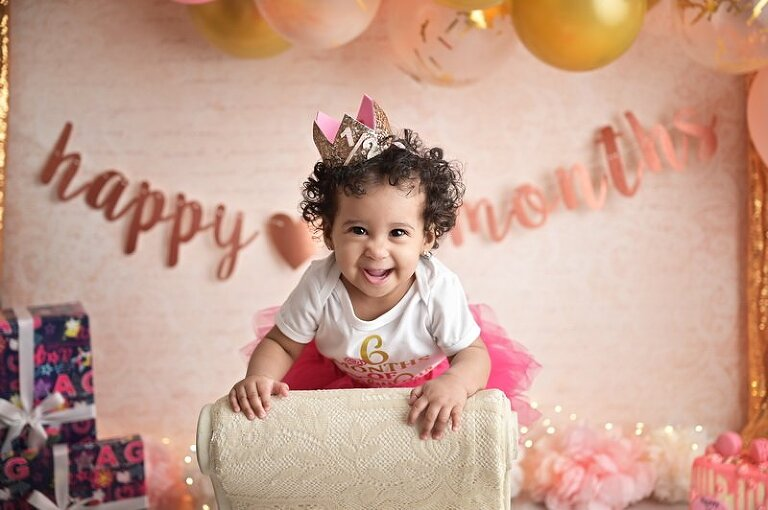 NYC Portrait Session | Birthday Session | Boss Baby | Girl Baby