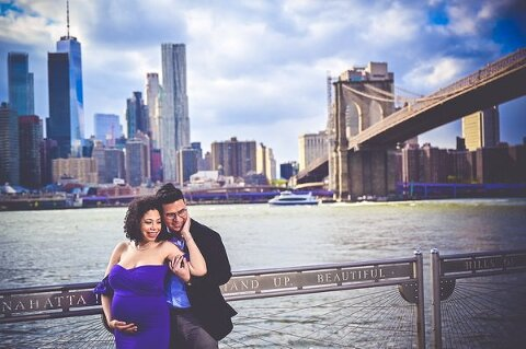 nyc maternity portraits